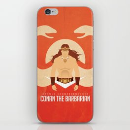 SON OF CROM iPhone Skin