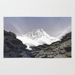 Misty Mountains / / #fractal #fractals #3d Rug