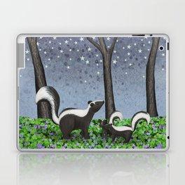 starlit striped skunks Laptop & iPad Skin
