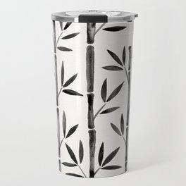 Black Bamboo Travel Mug