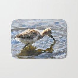 American Avocet Chick Bath Mat