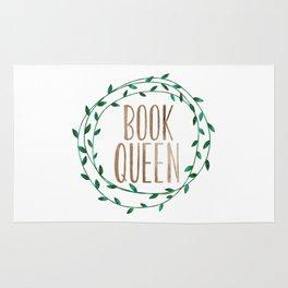 Book Queen Rug