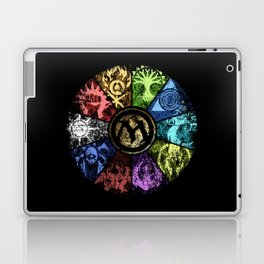 Magic the Gathering - Faded Guild Wheel Laptop & iPad Skin