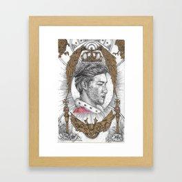 The Royalty Framed Art Print