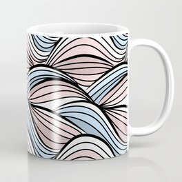 Thread pink blue Coffee Mug