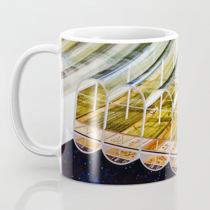 Agricultural modules on a Bernal sphere Coffee Mug