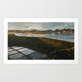 Krabi Sunset Art Print