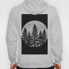 Night Time in the Forest Hoody