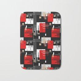 Abstract pattern Retro 2 Bath Mat