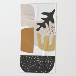 Abstract Shapes  2 Beach Towel