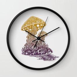 SHROOM SWAMP Wall Clock