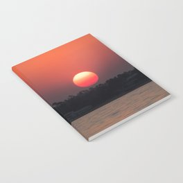 Really red sun Notebook