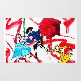 Marin Marais `Le grand Spectre de la Rose'          by Kay Lipton Rug