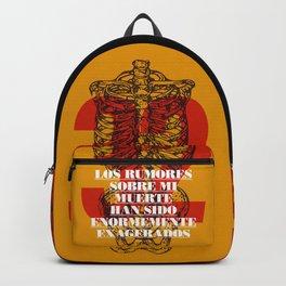 Los rumores sobre mi muerte Backpack