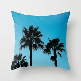 Palms in Los Angeles Throw Pillow