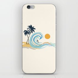 Minimalistic Summer II iPhone Skin