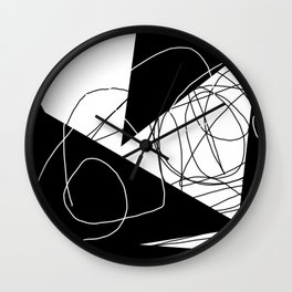 When Gladys Goes to Town Wall Clock