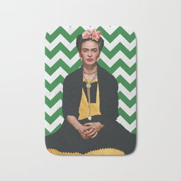 Frida Kahlo Photography I Bath Mat