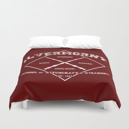 Ilvermorny School of Witchcraft & Wizardry Duvet Cover