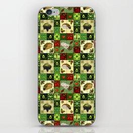 Mexican Restaurant Tiles iPhone Skin