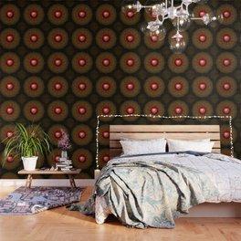 Valentine Heart Mandala Abstract (Love Overcomes the Darkness) Wallpaper