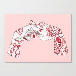 Scissor Me Timbers Canvas Print