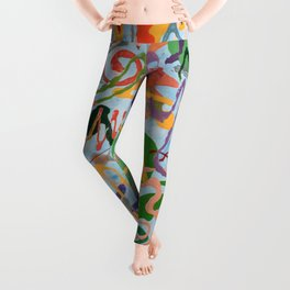 Shamanic Painting 03 Leggings