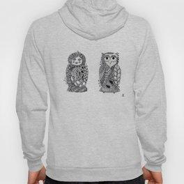 Babushka n Owl Hoody