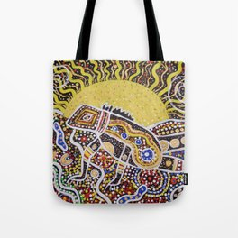 Water Dragon Totem Animal Tote Bag