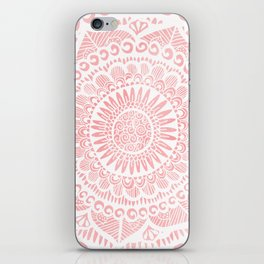 Blush Lace iPhone Skin
