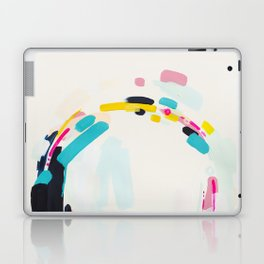 Yesterday to Tomorrow - abstract painting by Jen Sievers Laptop & iPad Skin