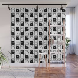 A Chess of Cats Wall Mural