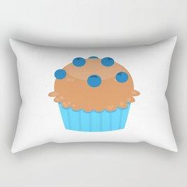Blueberry Muffins Rectangular Pillow