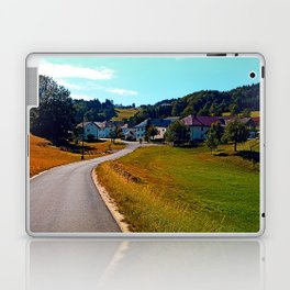 Country road, take me nowhere Laptop & iPad Skin