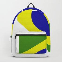 brazil flag Backpack
