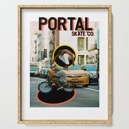 Portal Skate Serving Tray