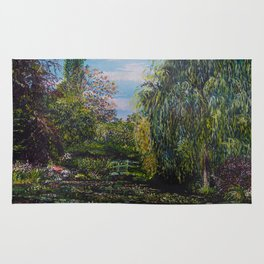 Monet's Garden Rug