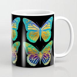 Pop Art Butterflies Coffee Mug