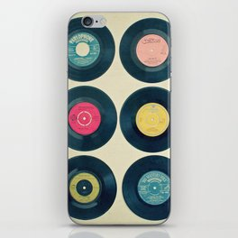 Vinyl Collection iPhone Skin