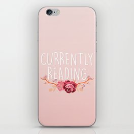 Currently Reading - Pink iPhone Skin