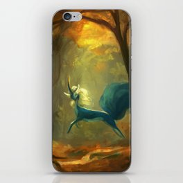 Over the Stream iPhone Skin