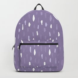Stains Abstract Ultraviolet Backpack