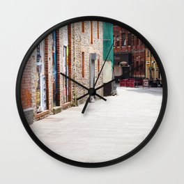 Quiet Street Wall Clock