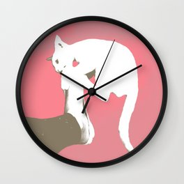 Cattack Wall Clock