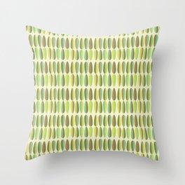 Mirnd Century Modern Green Seamless Patte Throw Pillow