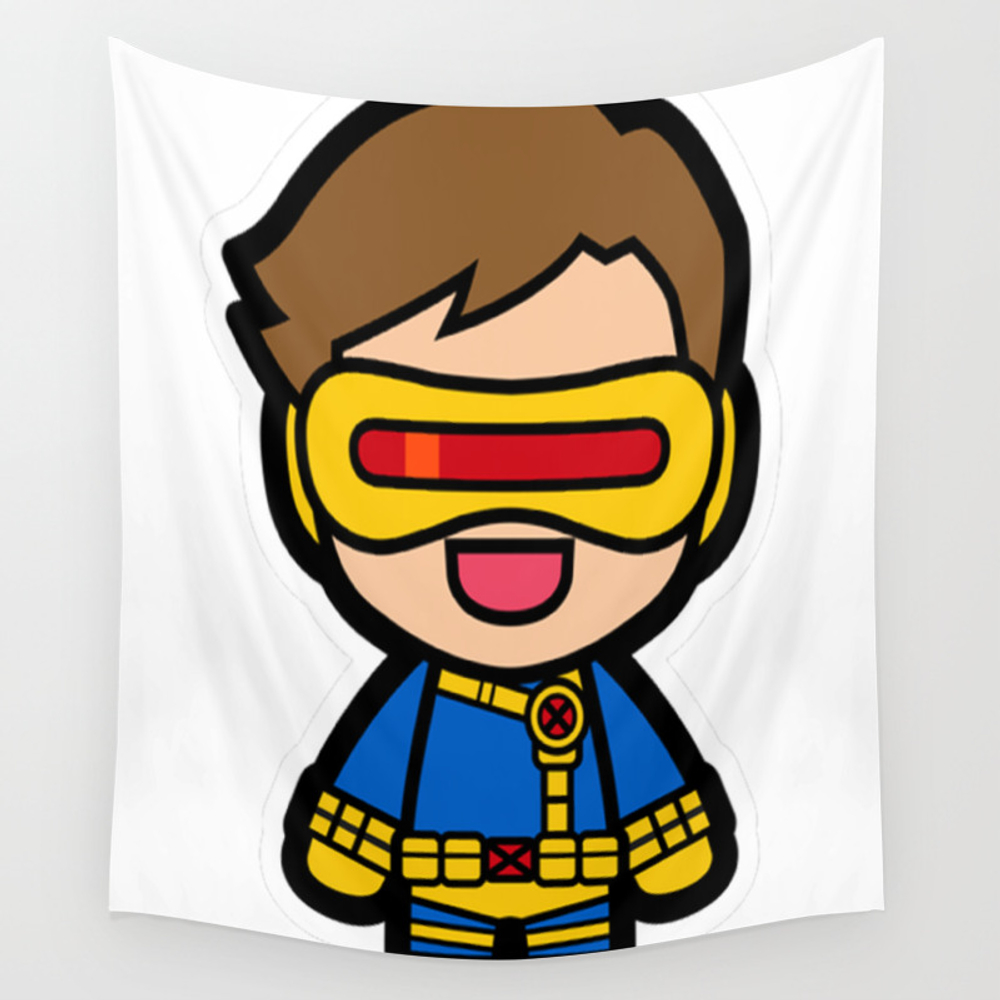 Laser Eyes Wall Tapestry by Ngominhanhhfed TPS7907235