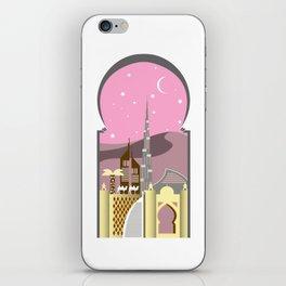 Pink Dubai iPhone Skin