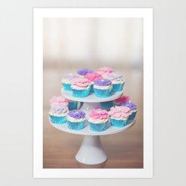 Cupcakes 01 Art Print