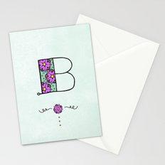 B b Stationery Cards
