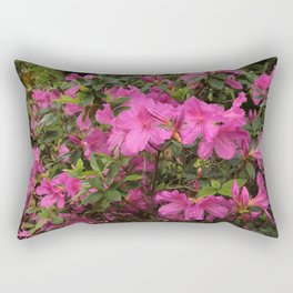 Azalea Time Rectangular Pillow